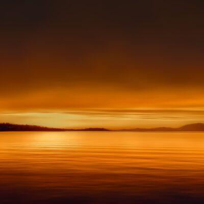 Sunset in Halkis Greece